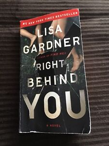 "Book/Novel ""Right Behind You"""