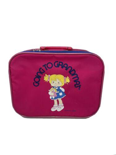 Going To Grandma s Suitcase, Vintage 1980s Mercury Luggage, Pink - $13.99