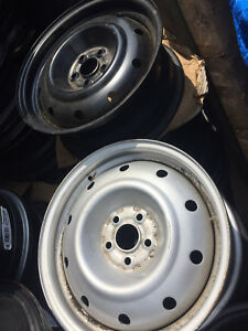 "16""-5x100 rims. New. $100/set of four. Silver or black."