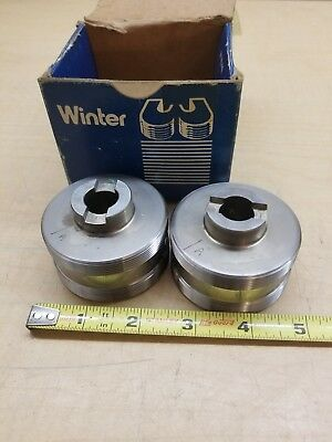 Lot Of 2 Cj Winter Thread Rolls Gage .765 Bd826 78