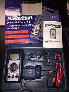 mastercraft multimeter how to use