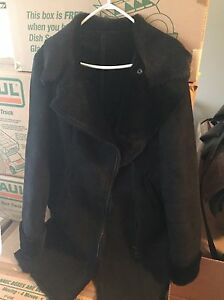 Never WORN shearling and fur jacket!