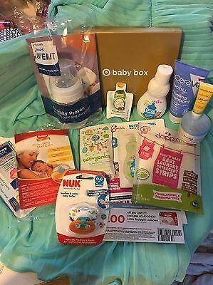 12 pc. Target & Walmart Baby Box Items - Full & Sample Sizes  + Coupons