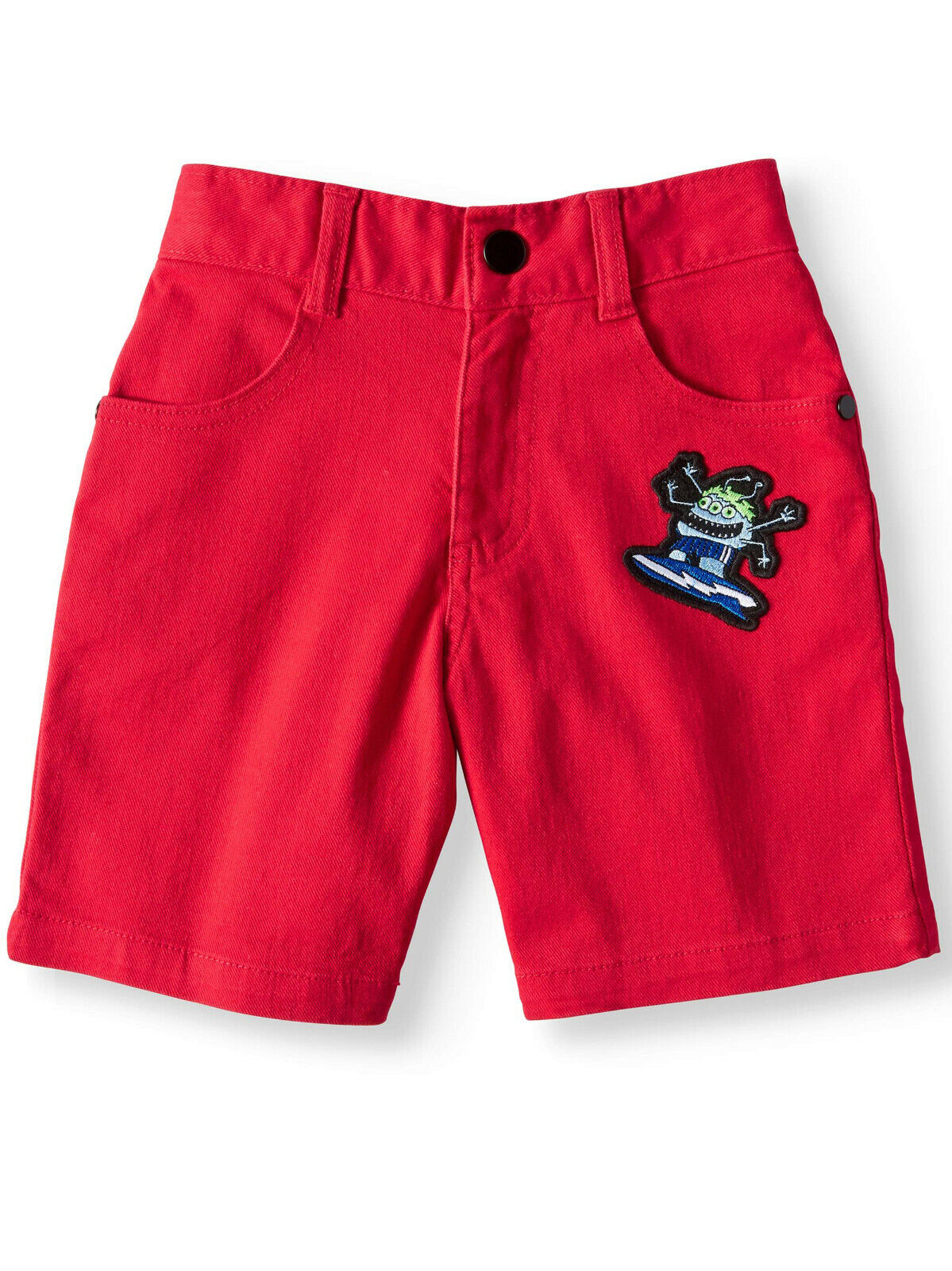 365 Kids from Garanimals Boys' Stretch Twill Shorts with Pat