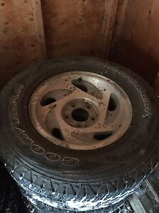 1998 F150 rims with. Goodyear wranglers