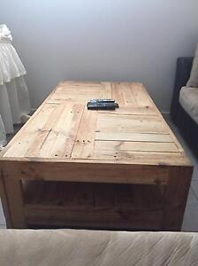 Hand crafted coffee table Rosebery Palmerston Area Preview