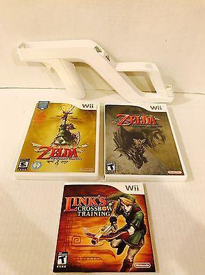 Usado, The Legend of Zelda: Skyward Sword- Twilight  Princess- Crossbow Training Wii comprar usado  Enviando para Brazil