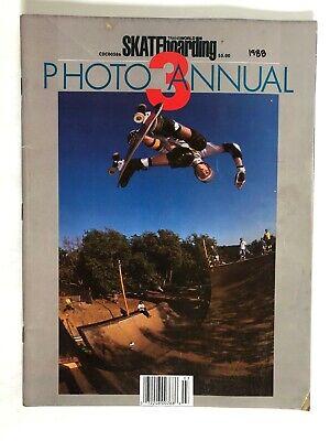 1988 Transworld Skateboarding Magazine Photo Annual