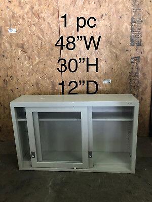 Lab Casework Overhead Cabinet Whitetan 48x30x12 Deep
