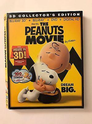 The PEANUTS Movie Blu-Ray DVD *SLIP COVER ONLY* NO DVD, NO DISC, NO Digital HD