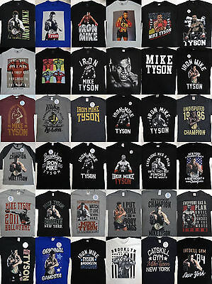 Mike Tyson Iron Mike Boxing World Champion Officially Licensed T Shirt
