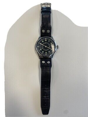 Hamilton Custom Watch Vintage Cal 921 Movement in 44 mm Leather Band