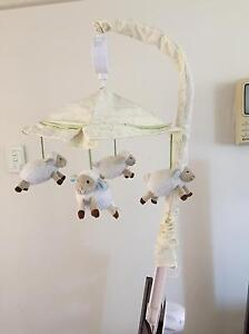 Baby Cot Crib Mobile Musical Arm Westmead Parramatta Area Preview