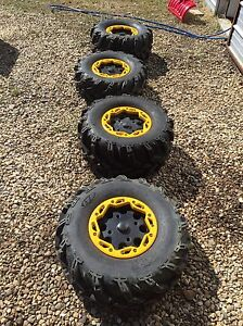 Tires and rims can-am