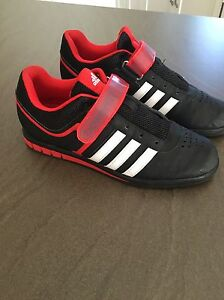 Adidas power lifting shoes – size 9.5 – like new