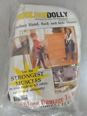 Shoulderdolly Lifting Moving Straps Ld