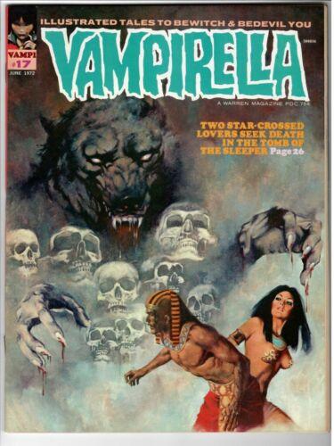 Vampirella #17 Near Mint Warren Magazine