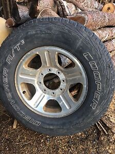 """(3) 18"""" rims and tires. Came off a 2006 F-250  St. John's Newfoundland image 5"""