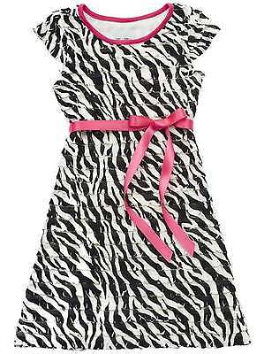 RARE EDITIONS NEW GIRLS 7-16 BLACK/WHITE DRESS ZEBRA PARTY, CHURCH, PAGAENT](Party Dresses Girls 7 16)