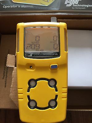 Gas Monitor Microclip Xl Bw Technologies Multigas Gas Detector Calibrated