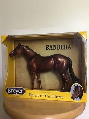 BREYER SR #1769 GLOSSY APPRECIATION BANDERA METALLIC CHESTNUT GERONIMO MOLD NIB