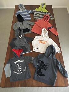 Boy Hoodies Bundle (Size 4) Kareela Sutherland Area Preview