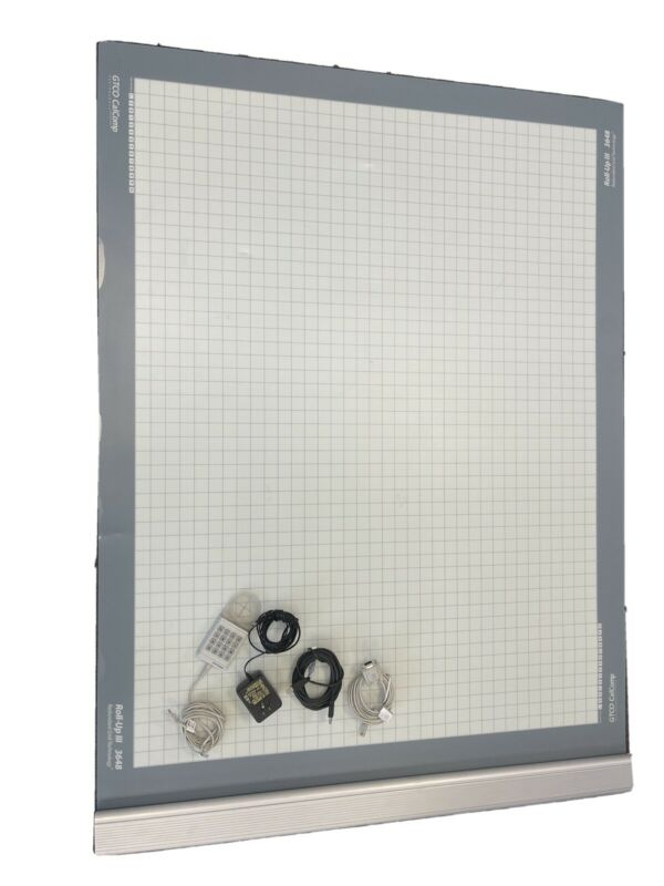gtco calcomp digitizer Roll-up III 3648 36x48