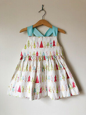 Brinkleys Berries Christmas Tree Tunic Top Shirt size 4t dress