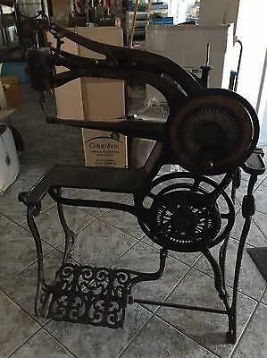 Antike Schuster Sattler Nähmaschine Schusternähmaschine