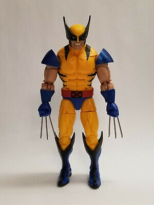 Marvel Legends X-Men Apocalypse BAF Series Tiger Stripe Wolverine Action Figure