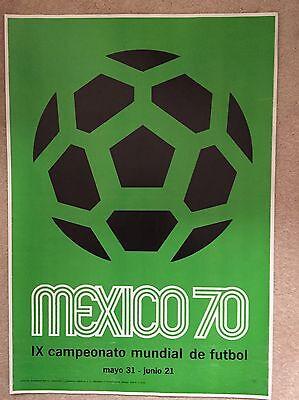 World Cup 1970 Original Poster