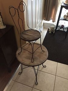 Vintage Table and chair (matching)