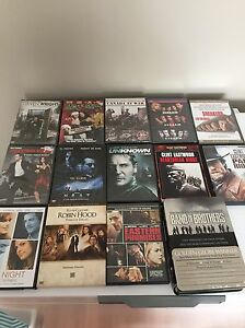 Collection of 28 movies DVD and blu-ray
