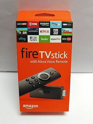 Amazon Fire TV Stick w/Alexa Voice Remote- 2ND GEN - BRAND NEW