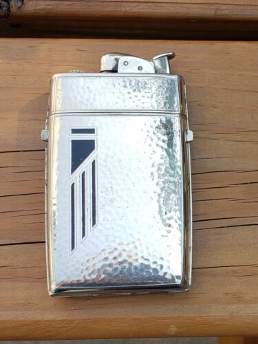 Vintage Art Deco Evans Lighter Cigarette Case