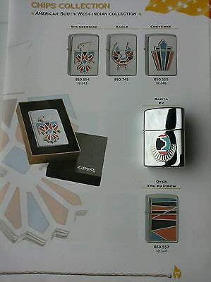 Original Zippo Feuerzeug, American South West Indian Collection