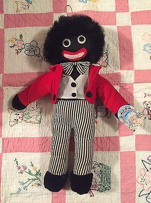 "Vintage Black Cloth Rag Doll African Americana 17"""
