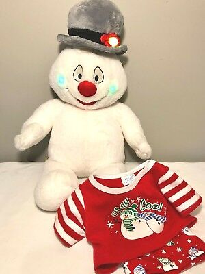 Frosty the Snowman Build a Bear The Magic Hat Plush Stuffed Animal Outfit 18