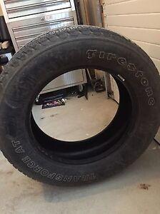 Firestone all season tires 285/60R20