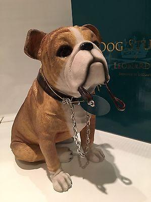 Sitting English Bulldog Ornament Dog Figurine Gift Present