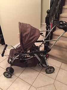 Sit and stand stroller Kitchener / Waterloo Kitchener Area image 2