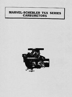 Marvel Schebler TSX Series Carburetors
