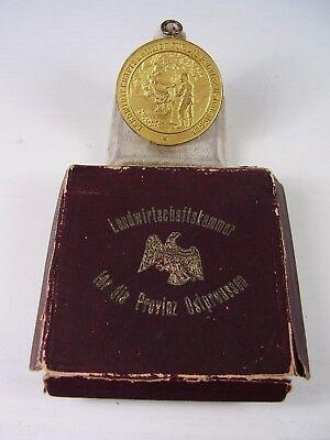 Antiker Orden Landwirtschaftskammer f.d.Provinz Ostpreussen im Etui