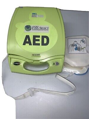 Zoll Aed Plus Defibrillator. Outer Cover Cable No Accessories. See Desc