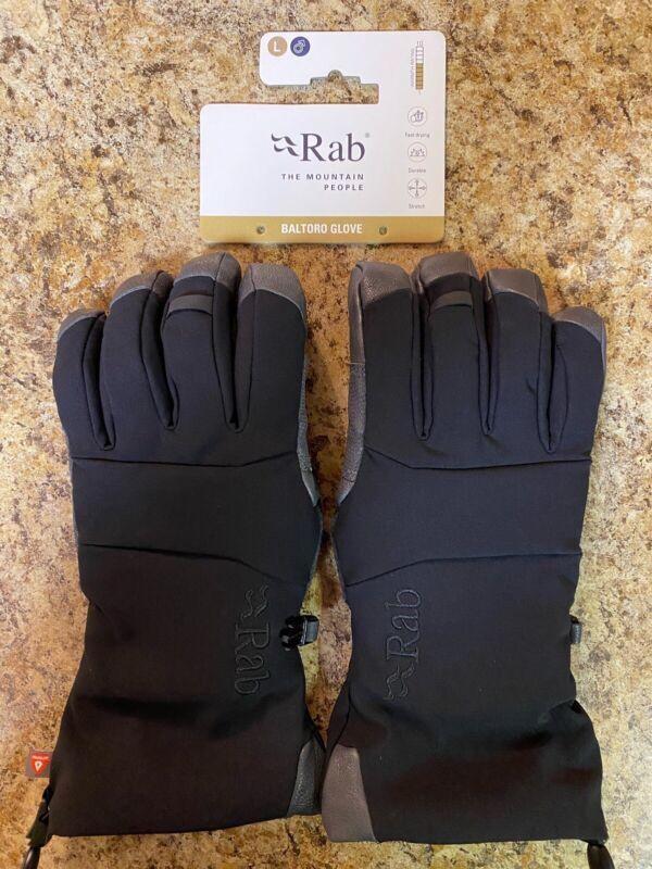 NWT Rab Boltoro Gloves Men's Large Softshell PrimaLoft Ice Alpine Climbing