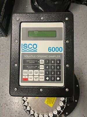Isco 6000 Portable Automatic Water Sampler Controller