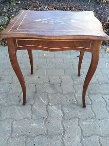 Decorative all wood side or end table Kitchener / Waterloo Kitchener Area image 1