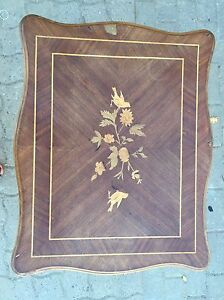 Decorative all wood side or end table Kitchener / Waterloo Kitchener Area image 2
