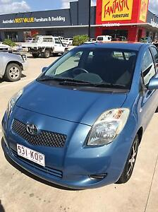 Toyota Yaris 2007 Redlynch Cairns City Preview