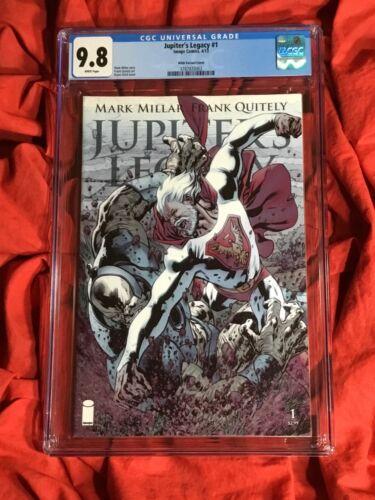 CGC 9.8~JUPITER'S LEGACY #1~HITCH VARIANT~MARK MILLAR STORY~NEW NETFLIX TV SHOW